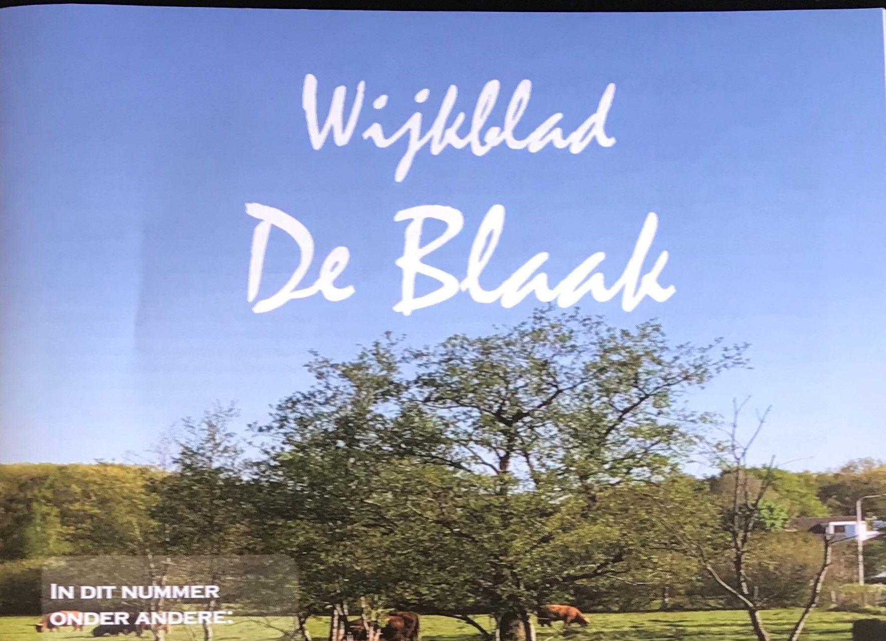 Artikel Wijkblad De Blaak